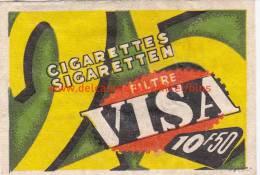 Visa Filtre - Boites D'allumettes - Etiquettes