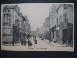 "CPA   Epernay    "" Rue Porte-Lucas """