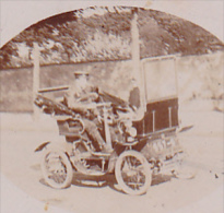 25735 Photo Ancienne 1900 -automobile De Dion Bouton  3P/2 ? Voiture Voiturette