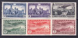 ESPAÑA 1931.EDIFIL Nº 614/619. CONGRESO POSTAL PANAMERICANO  NUEVO SIN  CHARNELA. SES280GRANDE - 1931-Aujourd'hui: II. République - ....Juan Carlos I