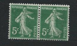 FRANCE - N° 137b -Type Semeuse Fond Plein Sana Sol - * - France