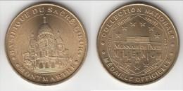 **** 75018 - PARIS - MONTMARTRE - BASILIQUE DU SACRE-COEUR  2001 - MONNAIE DE PARIS **** EN ACHAT IMMEDIAT !!! - Monnaie De Paris
