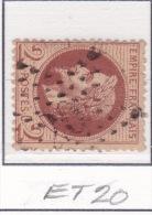 Etoile 20 Sur 26 - 1863-1870 Napoleone III Con Gli Allori