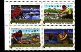 CANADA - 1993  FOLK  SONGS  BLOCK  MINT NH - 1952-.... Regno Di Elizabeth II
