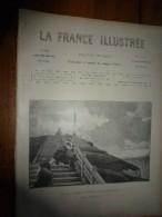 1895 LA FRANCE ILLUSTREE:Femmes De Pêcheurs(grav);Miséreux De Paris;St-Julien-le-Pauvre;Le COQ Et L'ÂNE(grav);Humour- - Journaux - Quotidiens