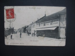 """CPA       Corimont    """"   Rue De La Gare  """"   Voyagé - Cornimont"""