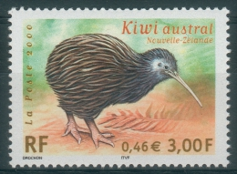 France, Bird, Kiwi, 2000, MNH VF - Frankrijk