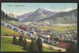 DAVOS GR Drahtseilbahn Karte Von Laret Nach Conters 1914 - GR Grisons