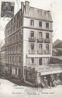 Cauterets (Hautes Pyrénées) - Pension De Belfort, Place De L'Hôtel De Ville - Edition Bloc Frères - Hotels & Restaurants