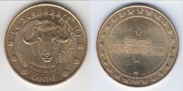 **** 15 - VALETTE - LE SCENOPARC 10 - BOEUF MUSQUE - CANTAL 2007 - MONNAIE DE PARIS **** EN ACHAT IMMEDIAT !!! - Monnaie De Paris