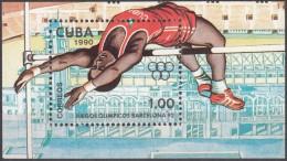 CUBA 1990, SPORT, SUMMER OLYMPICS In BARCELONA, COMPLETE MNH BLOCK, GOOD QUALITY, *** - Cuba