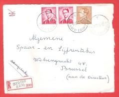 BOECHOUT LIER  Poortman  + Paire  Lunettes  Recommandé Aangetekend  Sur Dvt Lettre 20 I 1956 - Belgique
