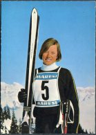 Annemarie Proll Skiing Ski Alpine Winter Sports Postcard - Winter Sports