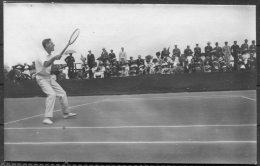 1912 Sweden Stockholm Olympics Official Postcard 52 - Kitson South Africa Tennis Silver Medalist - Olympic Games