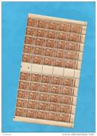 TUNISIE- N° 273**-demie Feuille =50exemplaires Neufs Sans -charnière-coin Daté Et Numéro Inter Panneau-cote 12.5 Euros - Tunisie (1888-1955)