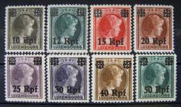 Dt.Reich Besetzung Luxemburg 1943 Prinzesin Sharlot ** Postfrisch    (I179) - Ocupación