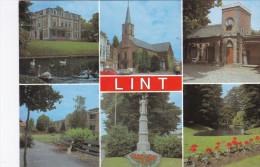 Grote Kaart Groeten Uit Lint (In Zeer Goede Staat) - Lint