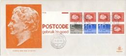 PzB 22c Op Abbekerk FDC 1978 - Blanco / Open Klep - Zeldzaam! - FDC