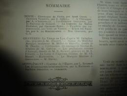 1894 LA FRANCE ILLUSTREE :Dessin--> Jeunes Vagabons Recrutés Pour Auteuil;Mariage Nicolas II;Humour Le LOUP Et L'AGNEAU - Journaux - Quotidiens