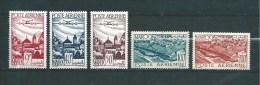 Colonie Francaise  PA Du Maroc  De 1947  N°60 A 64  Neuf ** - Maroc (1891-1956)