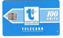 Malta - Malte - MAL-002a - Logo Blue - SC5 - No. 35480 - Matt - Malta