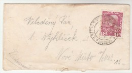 1909 Nove Mesto Nad Metuji AUSTRIA Stamps COVER Neustadt An Der Mettau Czechoslovakia - Covers & Documents