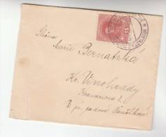1912 Nove Mesto Nad Metuji AUSTRIA Stamps COVER Neustadt An Der Mettau Czechoslovakia - 1850-1918 Empire
