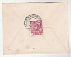 1910 Ustí Nad Orlici AUSTRIA Stamps COVER  Czechoslovakia - 1850-1918 Empire