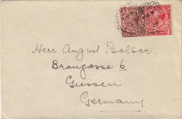 Lettre CaD WORKSOP Pour L'Allemagne 1928 - 1902-1951 (Rois)