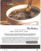 Canada-TimCard Gift Card-Coffee - Tarjetas De Regalo