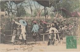 VIETNAM - PROCESSION DU DRAGON (carte Colorisée) - Vietnam