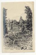 78 – DIVERS : Le Château De La Madeleine Vu Du Chemin De Boqueho. 6-6-1934 - France