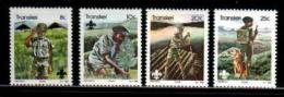 TRANSKEI, 1982,  MNH Stamp(s), Boys Scouts,   Nr(s) 103-106 - Transkei