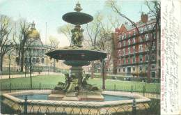 BOSTON - Brewer Fountain - Boston