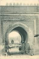 FEZ - Porte Et Place De La Machina - Fez (Fès)