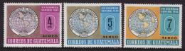 Guatemala #C356-58 F-VF Mint NH ** Map - Guatemala