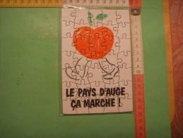 59) Normandie    :  Le Pays D'auge  : Carte Postale Puzzle - Basse-Normandie