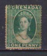COLONIE INGLESI GRENADA  1874   EFFIGE REGINA VITTORIA YVERT. 5A USATO VF - Grenada (...-1974)