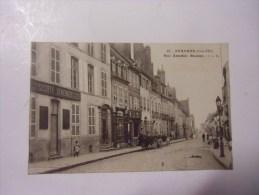 Dep 21 Auxonne  Rue Antoine Masson ( Animée Et Commerce -societe Generale ) - Auxonne