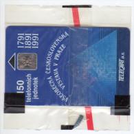 TCHECOSLOVAQUIE Carte Neuve Année 1991 Tirage 10 000ex