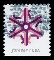 Etats-Unis / United States (Scott No.5034 - Flocon De Neige / Snow Flake) (o) P3 - Gebruikt