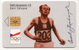 TCHECOSLOVAQUIE SPORT Emile ZATOPEK Année 1994 Tirage 30 000ex - Sport
