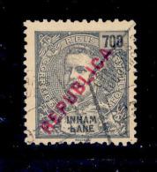 ! ! Inhambane - 1917 D. Carlos Local Republica 700 R - Af. 101 - Used - Inhambane