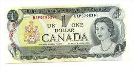 1973 Canada One Dollar  Banknote - Canada