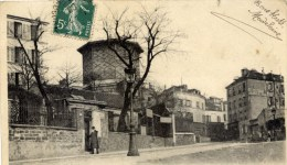 PARIS 18 è MONTMARTRE Rue Lepic Carte Précurseur - Arrondissement: 18
