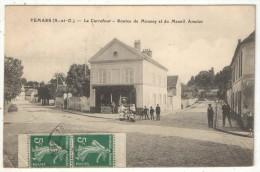 95 - VEMARS - Le Carrefour - Routes De Moussy Et Du Mesnil Amelot - 1912 - Autres Communes