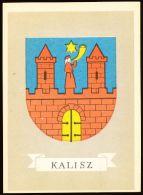 Pollish Heraldic Postcard Series : Kalisz (Herb Kalisza) - Poland