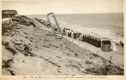 ILE DE RE -17- FACE AU GRAND OCEAN ATLANTIQUE LA PLAGE DE LA COUARDE - Ile De Ré