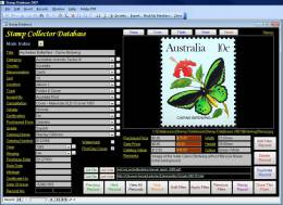 Stamp Collectors Image Database Software Pro - Inglese