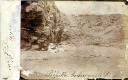 44 PREFAILLES  CARTE PHOTO 1921 AU BORD DE LA PLAGE  CONSEILS  POUR  LES PHOTOS - Préfailles